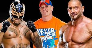 Batista to Team With John Cena and Rey Mysterio, WWE ...