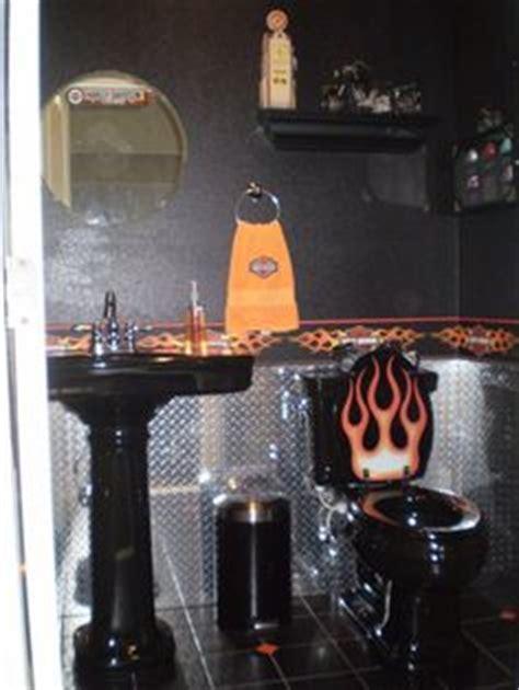 Harley Davidson On Pinterest  Harley Davidson, Bathroom