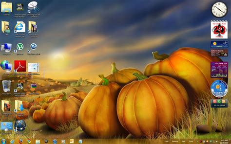 Windows 7 Thanksgiving Theme