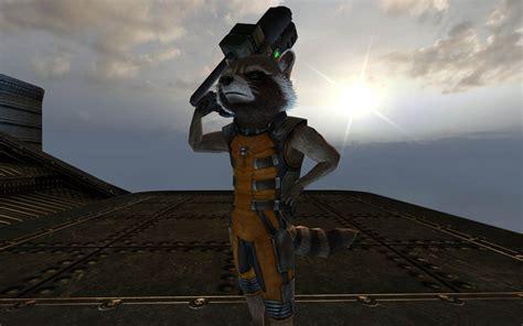 rocket raccoon unreal tournament  skins creatures