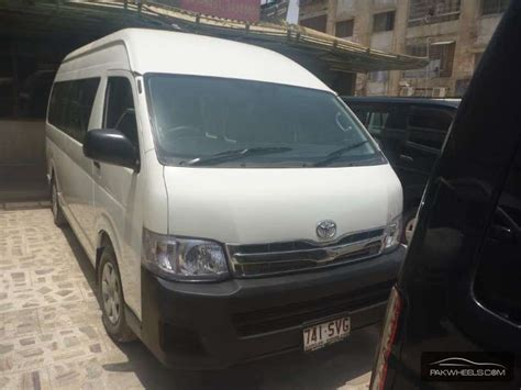 used toyota hiace hiroof with a c 2012 car for sale in karachi 1154896 pakwheels