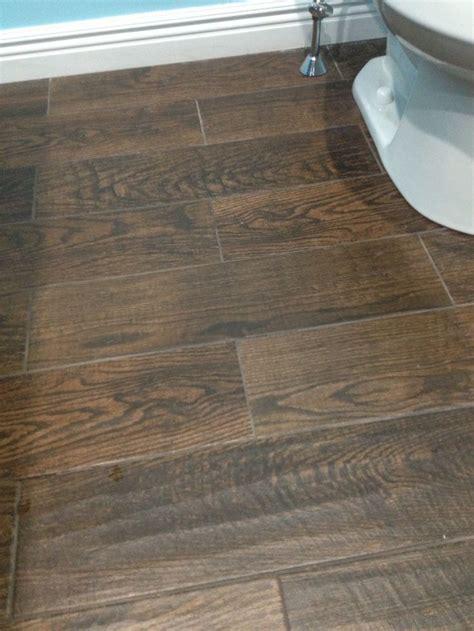 porcelain wood  tile  upstairs bathroom home depot