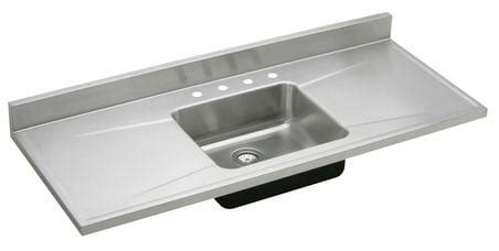 kitchen sink with drainboard and backsplash 5 ways to do stainless steel counter tops in your kitchen 9585