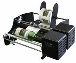 bottle matic 10quot semi automatic bottle labeler single With beer label printing machine