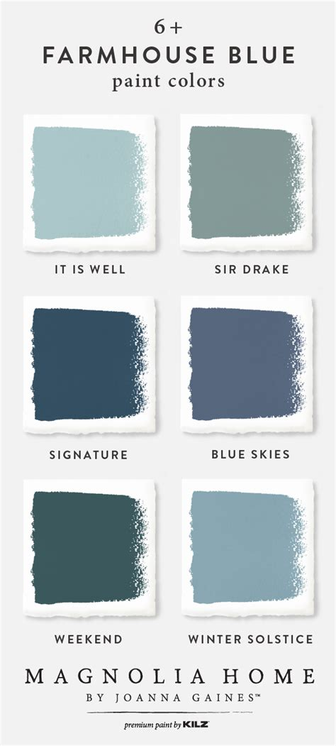 wow feast your on the farmhouse blue color palette from the magnolia home by joanna gaines