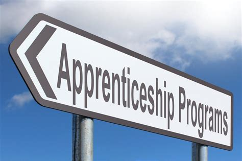 Apprenticeship Programs - Free of Charge Creative Commons Highway Sign image