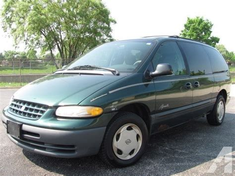 auto air conditioning repair 1999 plymouth grand voyager parking system 1999 plymouth grand voyager se for sale in melrose park illinois classified americanlisted com