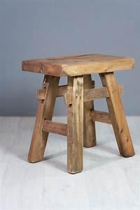 Tabouret Bois Design : tabouret design tabouret en bois exotique naturel ~ Teatrodelosmanantiales.com Idées de Décoration