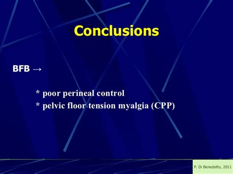 3 Pelvic Floor Tension Myalgia by La Riabilitazione Perineale Nella Donna Di Benedetto