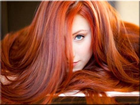 hair trends  red hair shades
