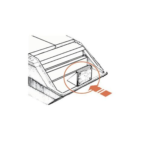 chaise moteur hors bord osculati chaise fixe pour platine pour moteur hors bord de