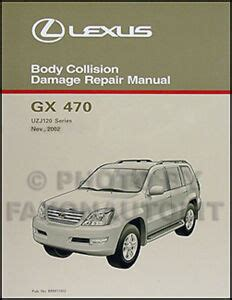 lexus gx body repair manual