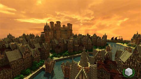 minecraft timelapse prospero  canal city youtube