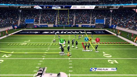 madden nfl  broncos  seahawks super bowl xlviii youtube