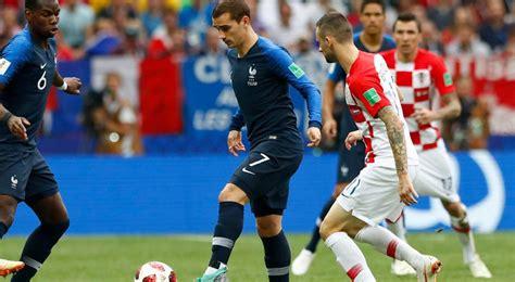 Fifa World Cup Final Live Tracker France Croatia