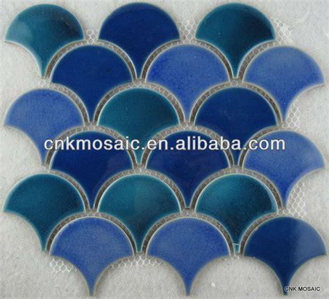 tcw73s blue ceramic fish scale mosaic tile jpg