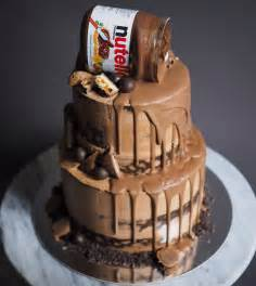 wedding cake and cupcake ideas nutella cake 6 8 bake you smile