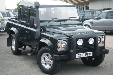 Used 2010 Land Rover Defender 110 Lwb Diesel Double Cab