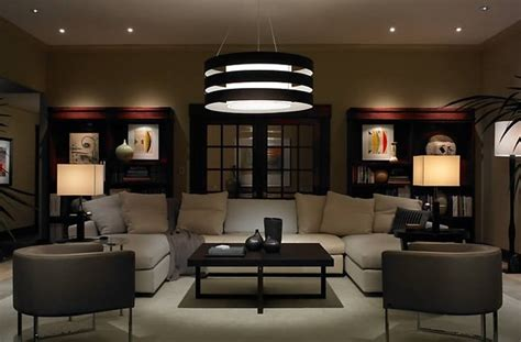 contemporary and modern lighting modern living room