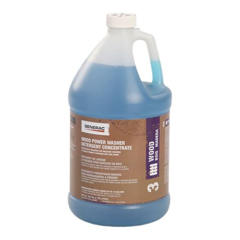 Generac Wood Pressure Washer Detergent Concentrate Lowe