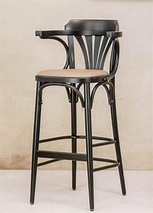 Tabouret De Bar Tissu : tabouret bar ton 135 par 2 tabourets assise cuir ou tissu clous ~ Teatrodelosmanantiales.com Idées de Décoration