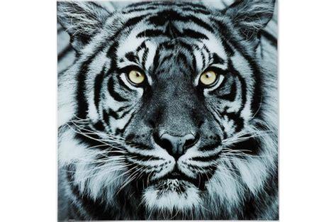 fauteuil bureau pas cher tableau tigre en verre tableau animaux pas cher