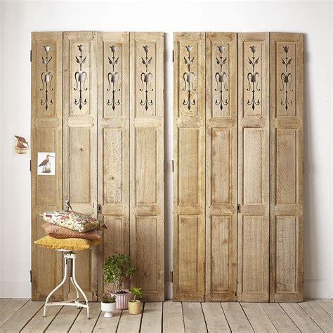 anciens panneaux de bois home porte placard decoration escalier et volet