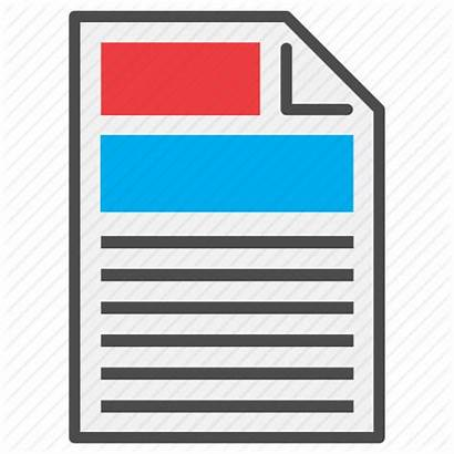 Icon Report Pdf Document Sheet Icons Type