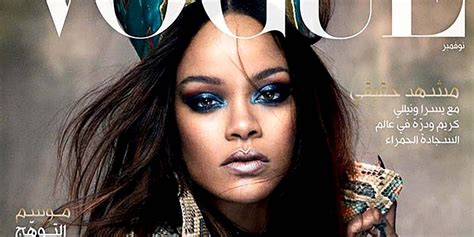 Latest Vogue Cover by See Why Rihanna S Latest Vogue Cover Is Sparking
