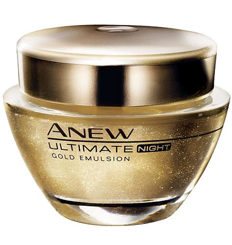 review  avon anew ultimate age repair gold emulsion