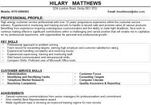 resume objective statement for construction management customer service cv sle