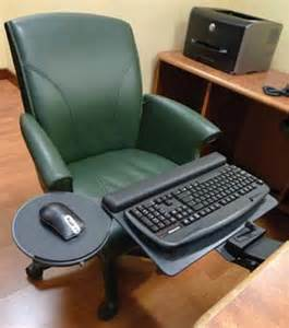 Computer Chair With Keyboard And Mouse Tray by Ergonomic Adjustable Keyboard Trays And Ergonomic