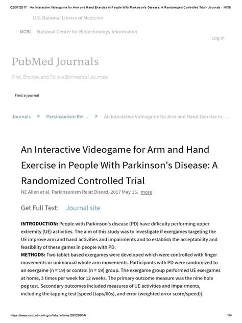 An Interactive Videogame For Arm And Hand Exercise In