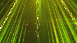 4K Golden Green Shining Twirl Lines 2160p Motion ...  Green