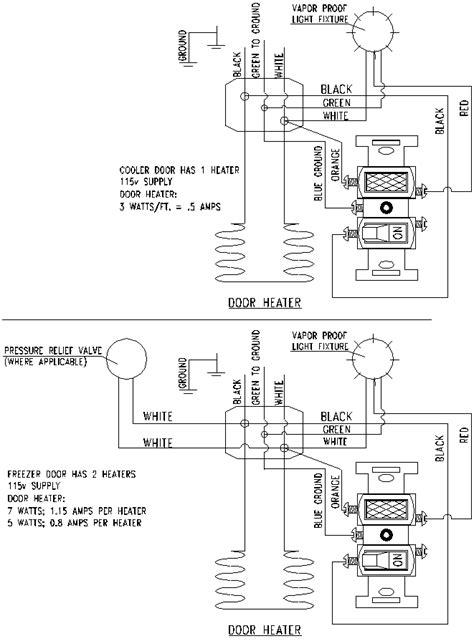 typical wiring diagram walk in cooler 37 wiring diagram