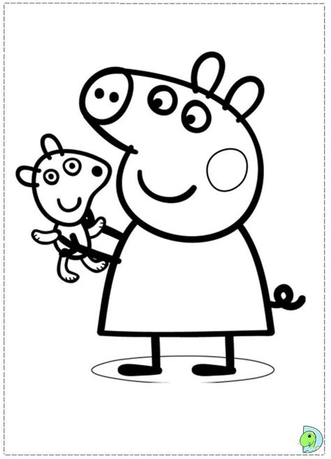 Peppa Pig Coloring Pages Online Coloring Home