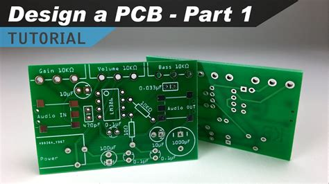 how to make a custom pcb part 1 making the schematic youtube