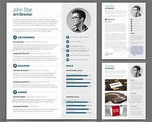 20 creative resume cv indesign templates design freebies With creative professional resume