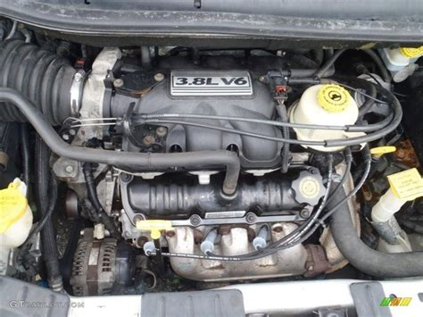 2002 Chrysler Town & Country Lxi Awd 3.8 Liter Ohv 12