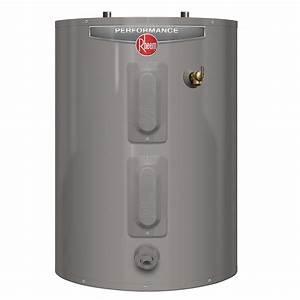 Rheem Gas Hot Water Heater Installation Instructions
