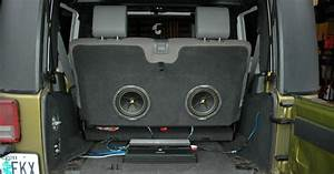Subwoofer Enclosure Ideas  In Your Back Seat