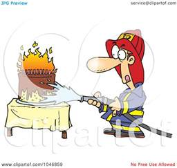 firefighter wedding cakes royalty free rf clip illustration of a
