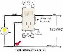 Wiring Diagram For Light Switch And Outlet Combo