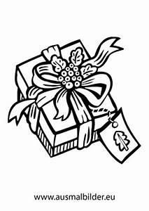 Weihnachtsgeschenke Zum Ausmalen : ausmalbilder sch n eingepacktes weihnachtsgeschenk ~ Watch28wear.com Haus und Dekorationen