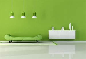 Fresh green interior design HD