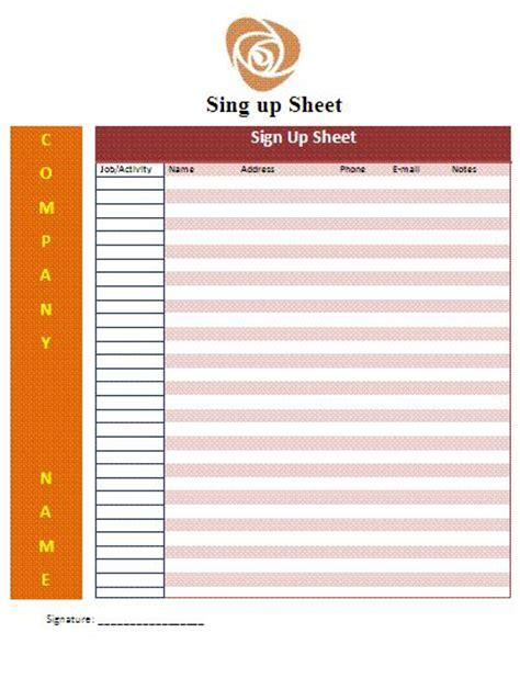 sign up sheet template google sign up sheet templates search teaching language arts template