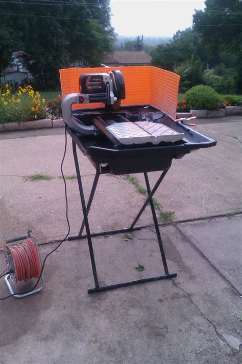 anyone have experience with the husqvarna ts 60 tile saw