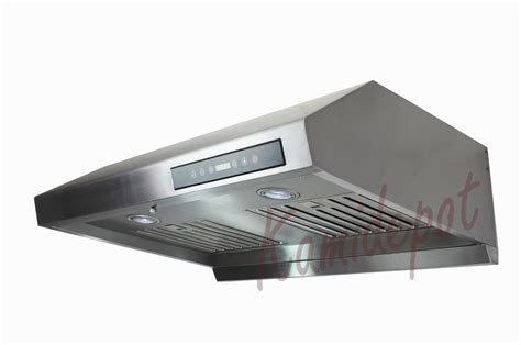 30 stainless steel range hood under cabinet 30 quot classic under cabinet stainless steel range hood
