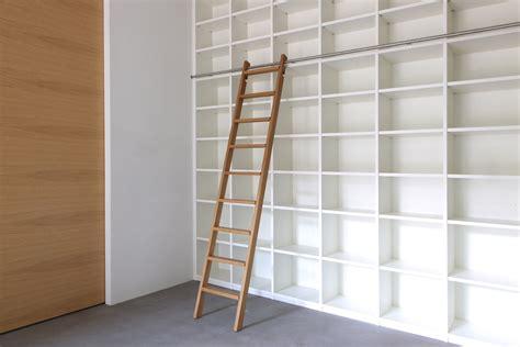 Bibliothek Möbel Ikea by Regalwand Mit Leiter
