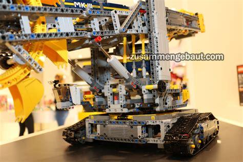 toy fair  lego technic bucket wheel excavator video